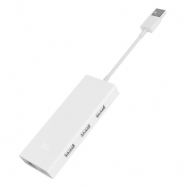 Адаптер Xiaomi Mi USB-C to VGA and Gigabit Ethernet Multi-Adapter White JGQ4005TY