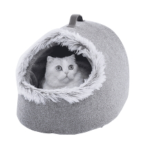 Домик для кошек Xiaomi Furrytail Soft Cat Nest Grey
