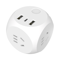 Удлинитель Xiaomi AIGO Rubik's Cube Socket with Power Adapter 18W беспроводной