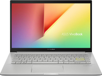 "Ноутбук ASUS VivoBook 14 K413FA-EB527T (Intel Core i3 10110U 2100MHz/14""/1920x1080/8GB/256GB SSD/DVD нет/Intel UHD Graphics/Wi-Fi/Bluetooth/Windows 10 Home) Серебристый 90NB0Q0B-M07900"