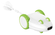 Игрушка для кошек Xiaomi Petgeek Crazy Mouse Toy White